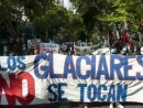 protest against Osisko mining in Argentina