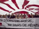 Demonstrators protest against tuition hikes in downtown Montreal