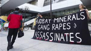HudBay Minerals Protest 20120614