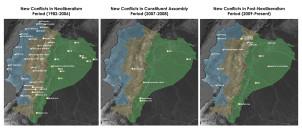Conflicts in Ecuador small